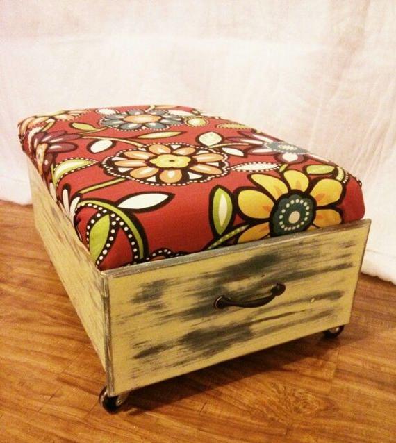 Reciclagem e decoração: gavetas antigas 7