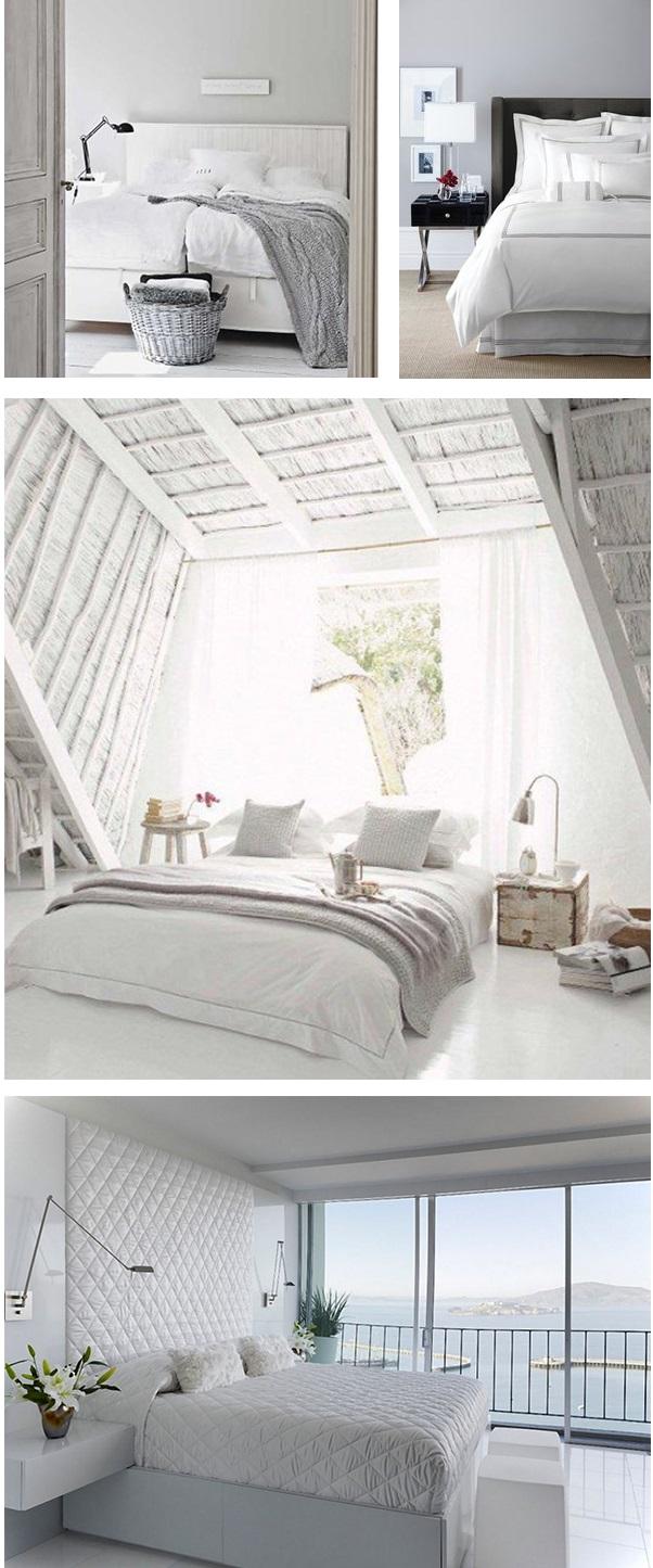 Decoração de quarto todo branco 10