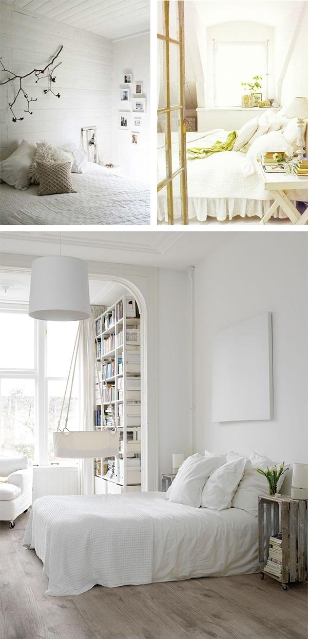 Decoração de quarto todo branco 11