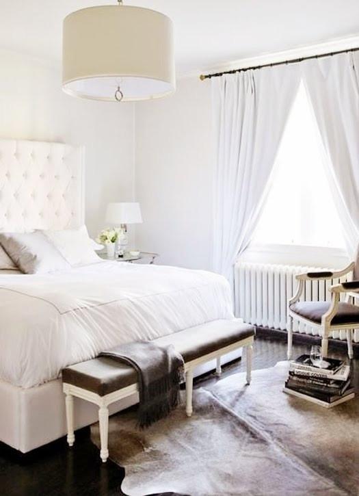 Decoração de quarto todo branco 5