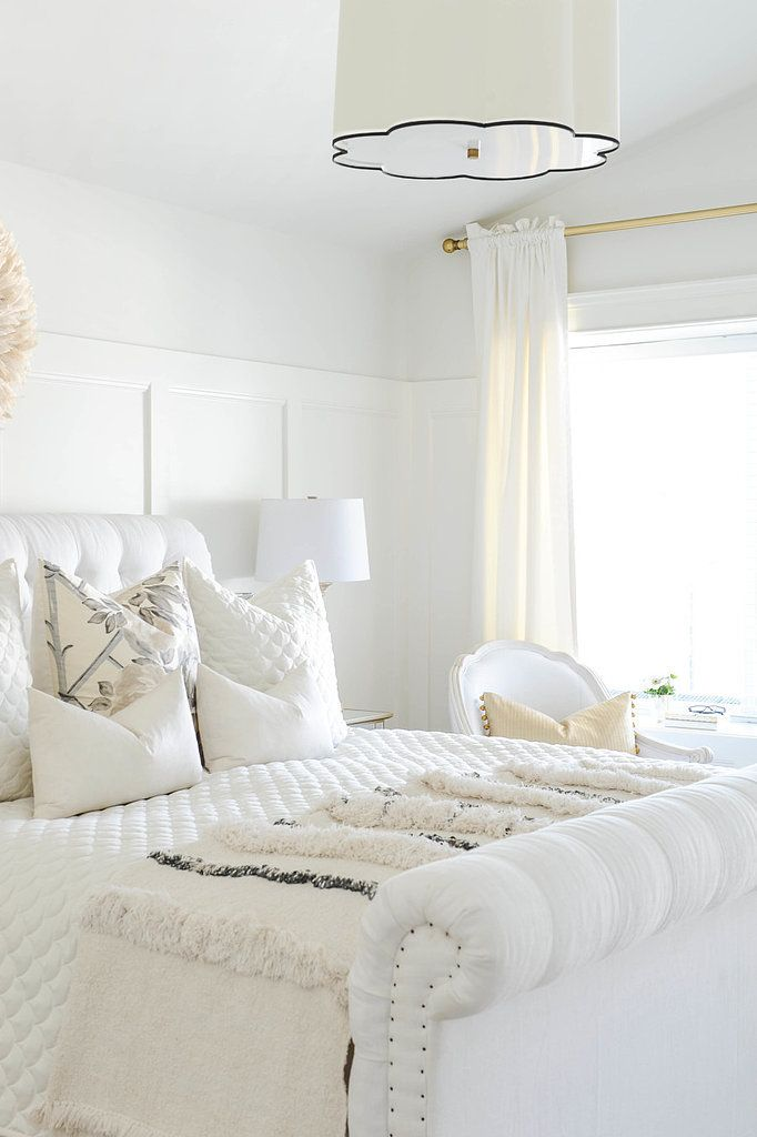 Decoração de quarto todo branco 8