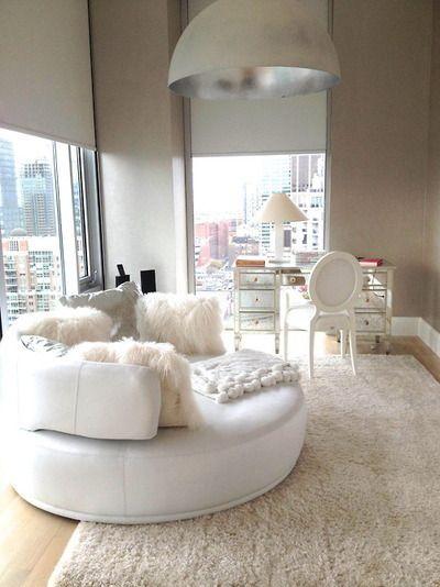 Decoração de quarto todo branco 9
