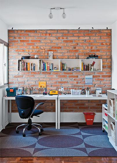 decoracao tijolo branco : decoracao tijolo branco:Tijolo à vista
