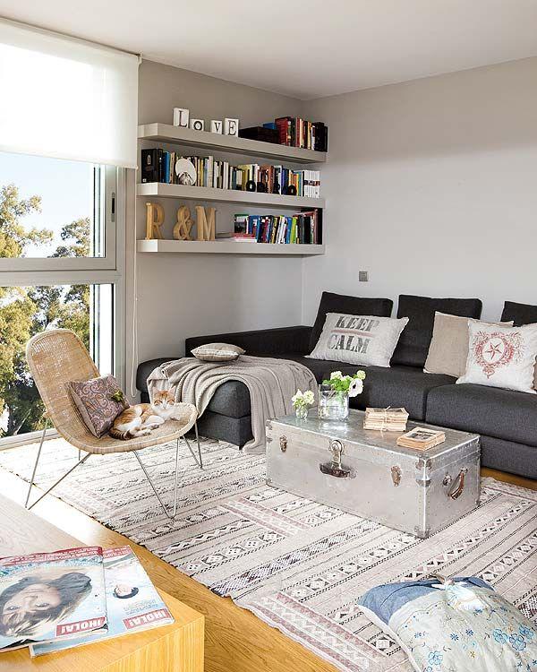 Fotos de apartamentos pequenos decorados 10