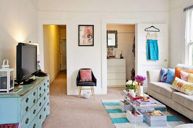 Fotos de apartamentos pequenos decorados 11