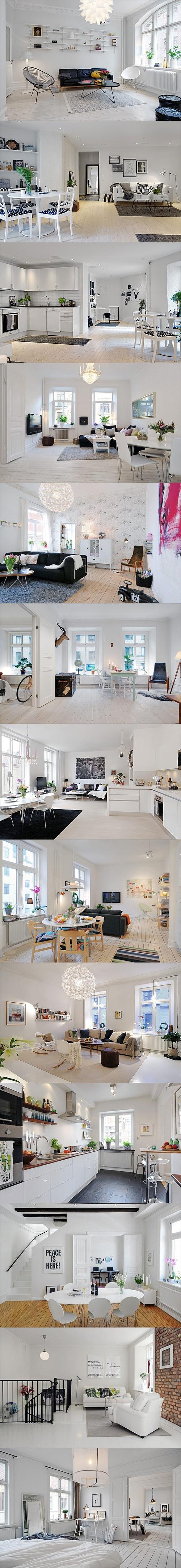 Fotos de apartamentos pequenos decorados 2