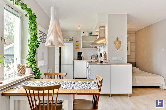 Fotos de apartamentos pequenos decorados 4