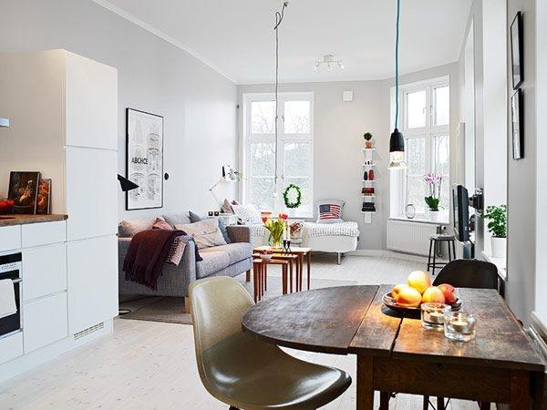 Fotos de apartamentos pequenos decorados 5