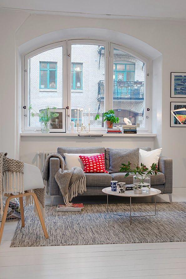 Fotos de apartamentos pequenos decorados 6