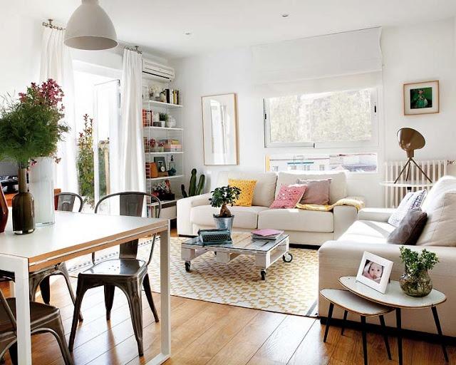 Fotos de apartamentos pequenos decorados 9