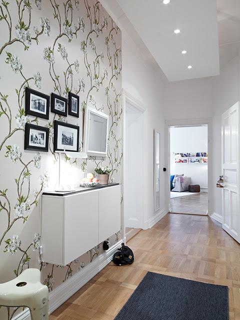 Fotos de decoração: corredor pequeno e decorado 11