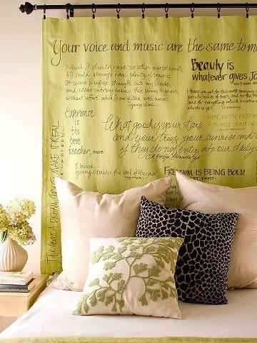Ideias para cabeceiras de camas 12