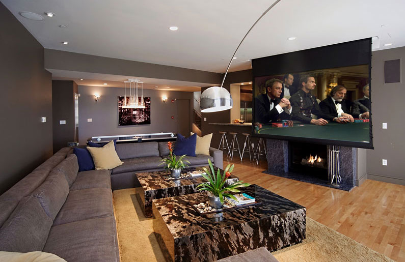 garage to office conversion ideas - Noite de cinema em casa dicas para organizar e receber os