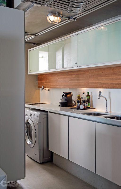 cozinha com lavanderia 10