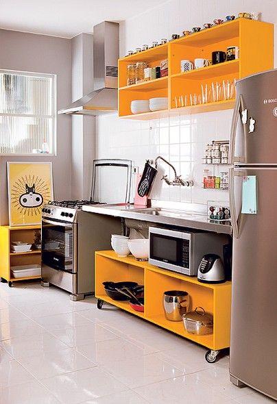 cozinha com lavanderia 11
