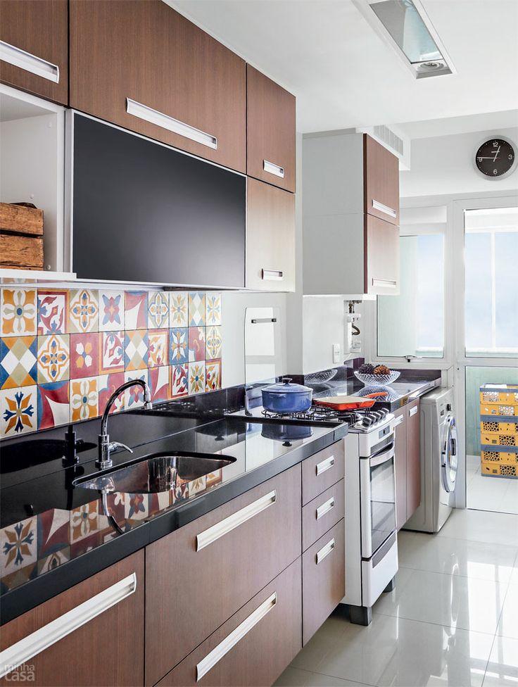 cozinha com lavanderia 2