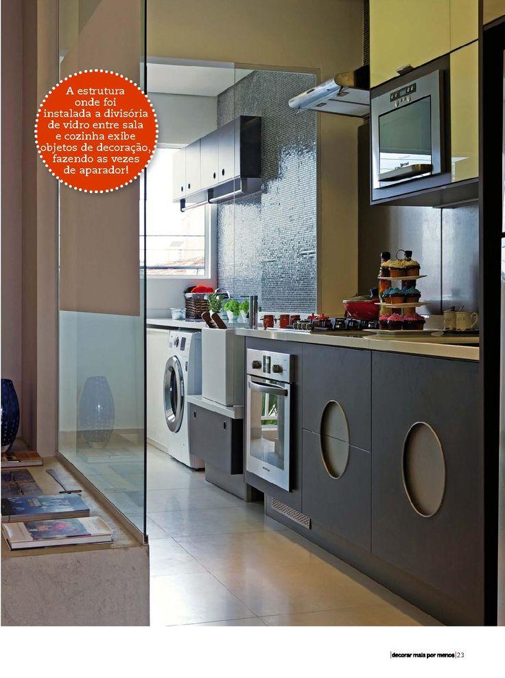 cozinha com lavanderia 5