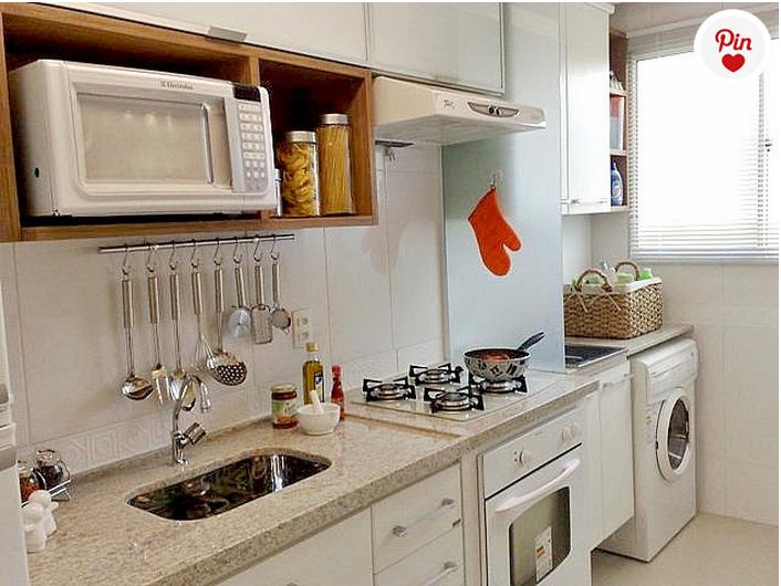 cozinha com lavanderia 4