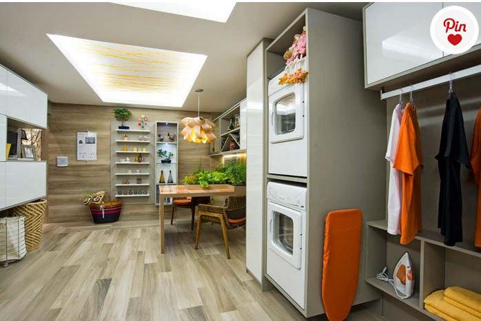 cozinha com lavanderia 6