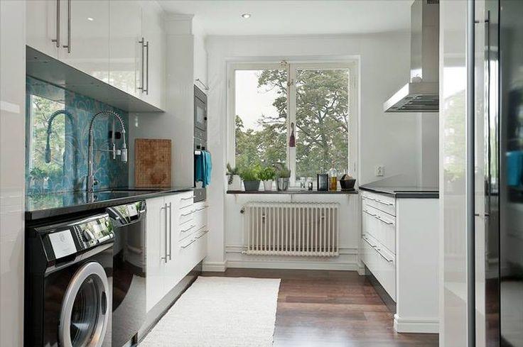 cozinha com lavanderia 7
