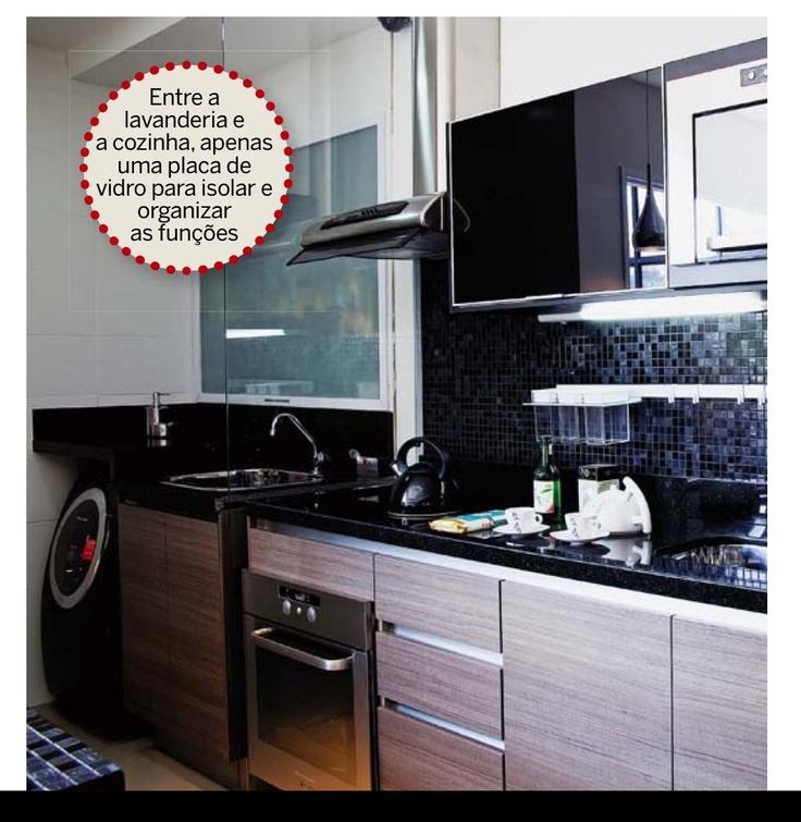 cozinha com lavanderia 8