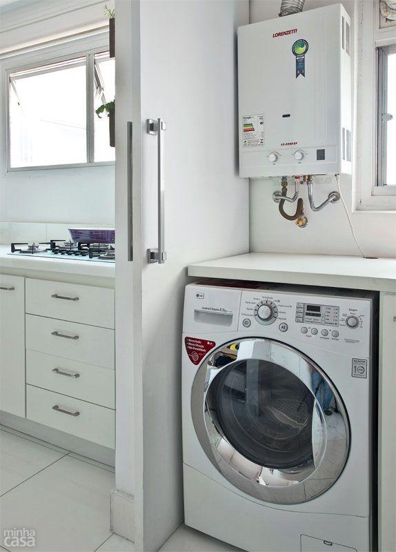cozinha com lavanderia 9