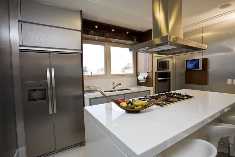 Cozinha com ilha # Cozinha Com Ilha Estreita