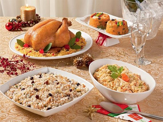 Preparar os pratos de Natal