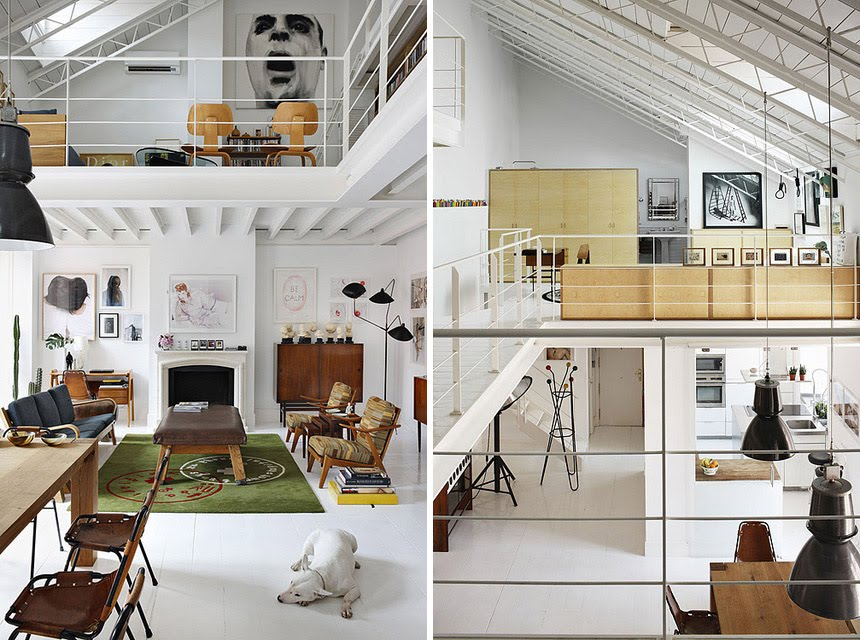 Decora o de loft for How to design a loft