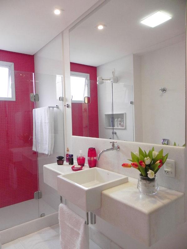 Modelos de banheiros -> Banheiro Simples Feminino