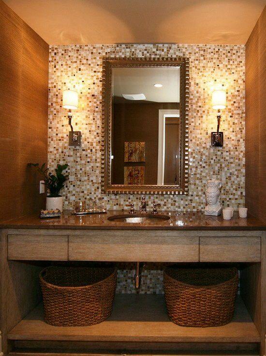 Modelos de banheiros for Bathroom designs on pinterest