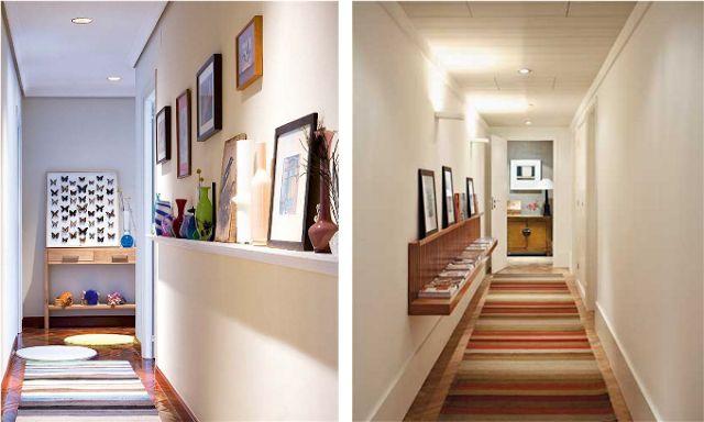 Fotos de decoração: corredor pequeno e decorado