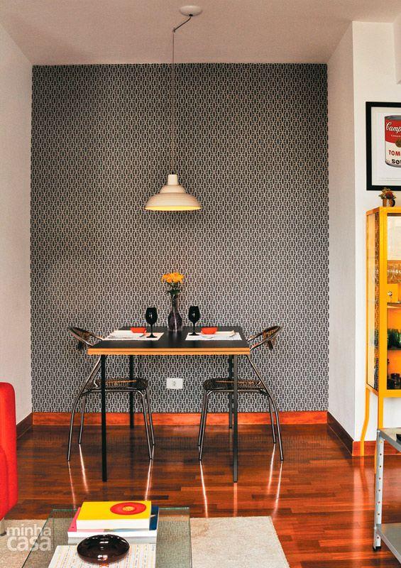 Como combinar: papel de parede cinza 6