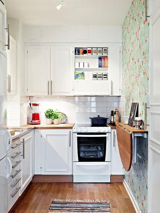 Como decorar cozinhas pequenas