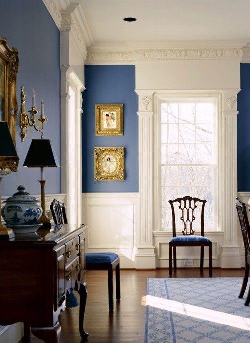 Branco e azul marinho para decorar 2