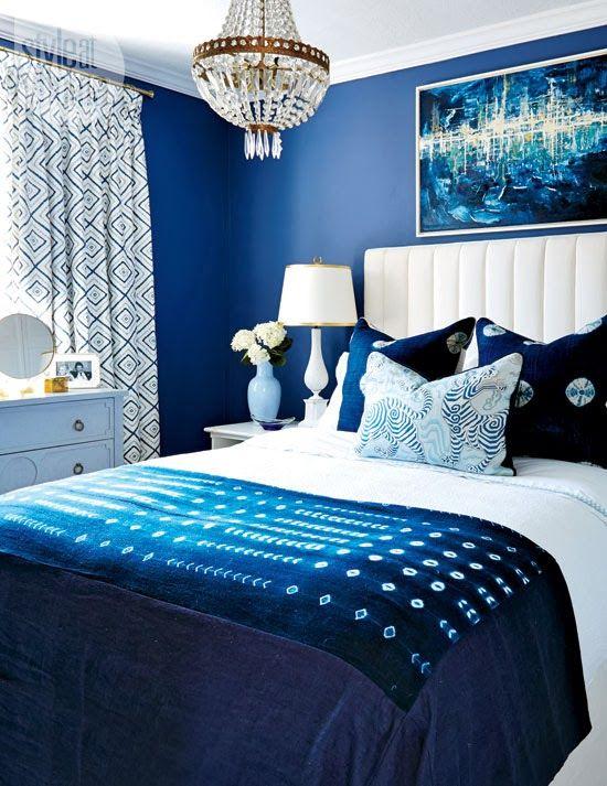 Branco e azul marinho para decorar 5