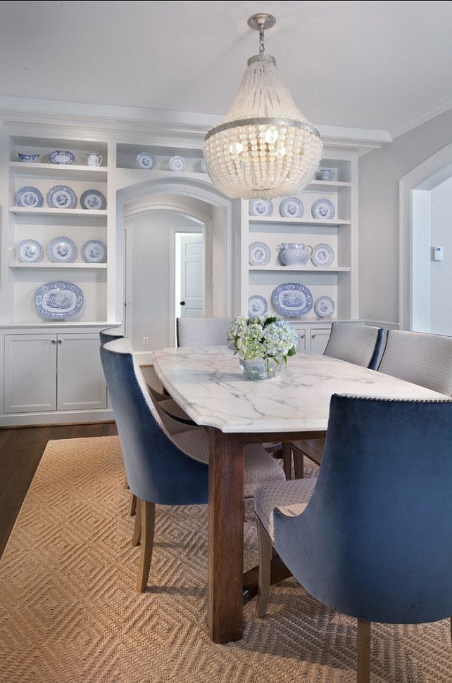 Branco e azul marinho para decorar 6