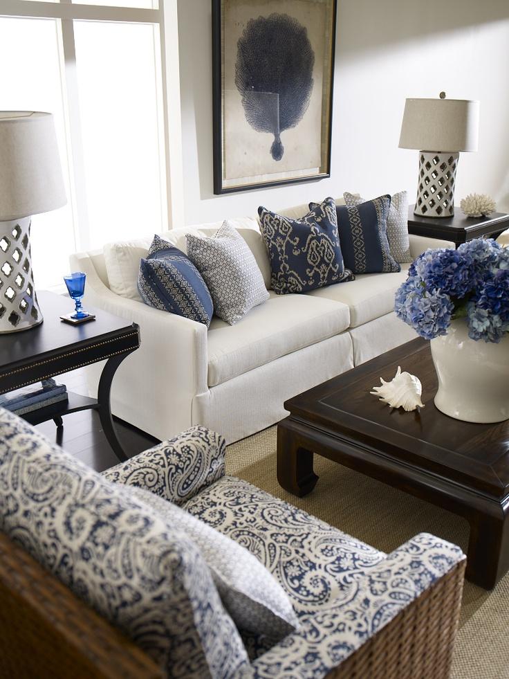 Branco e azul marinho para decorar 7