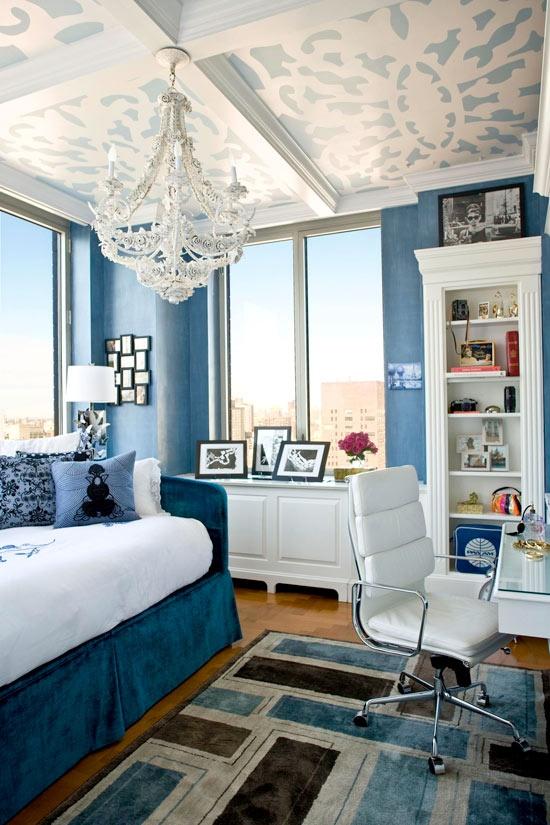 Branco e azul marinho para decorar 8