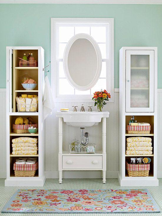 Como decorar banheiros pequenos 13