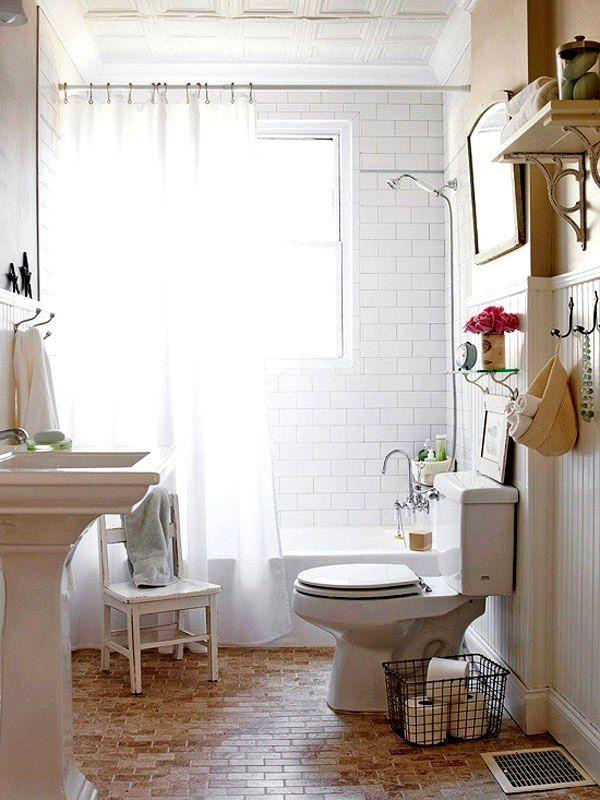 Como decorar banheiros pequenos 14