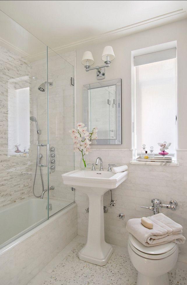 Como decorar banheiros pequenos -> Como Decorar Um Banheiro Com Banheira