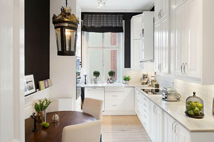 Como decorar cozinhas pequenas 12