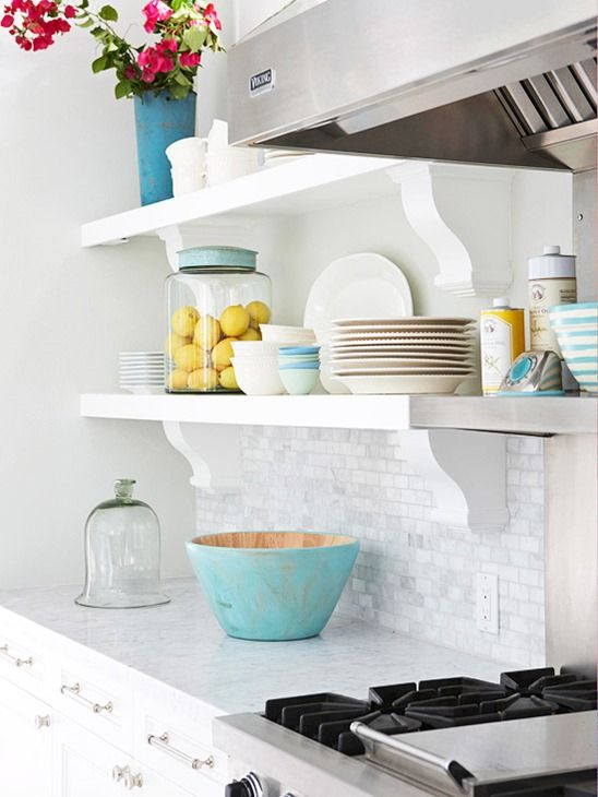 Como decorar cozinhas pequenas 13
