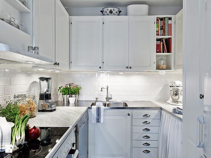 Como decorar cozinhas pequenas 14