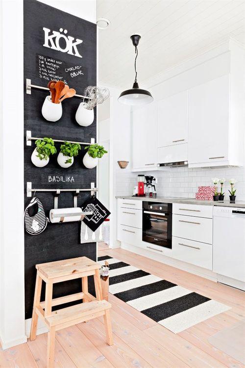 Como decorar cozinhas pequenas 9