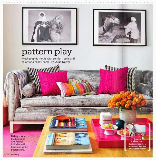 Como decorar: salas coloridas 2