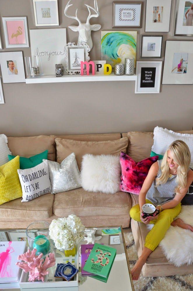 Como decorar salas coloridas 3