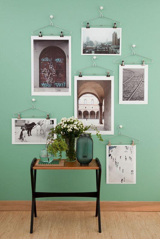 Decoração com fotos na parede 5