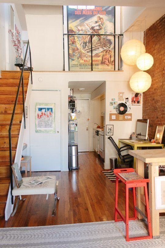 Decora o de casas pequenas - Small new york apartments interior ...